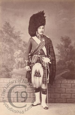Lieutenant George Montgomery Munro