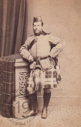 A Lance-Corporal in a Highland regiment