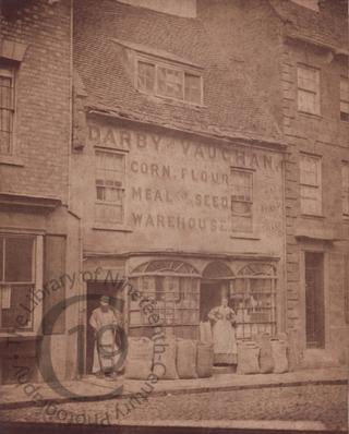 Corn and flour merchant