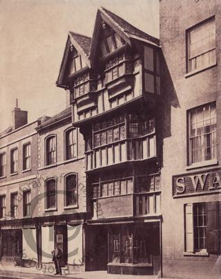 Edmund Hemus's ironmongery, Tewkesbury