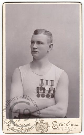 Unidentified sportsman