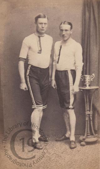 Two athletes