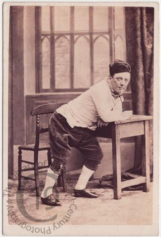 Frederick Robson in 'Boots at The Swan'