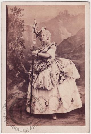 Louisa Swanborough in 'The Loves of Arcadia'