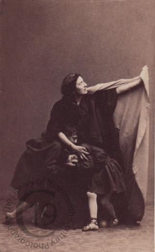 Adelaide Ristori as 'Medea'