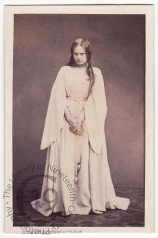 Mlle Karoly as 'Lady Macbeth'