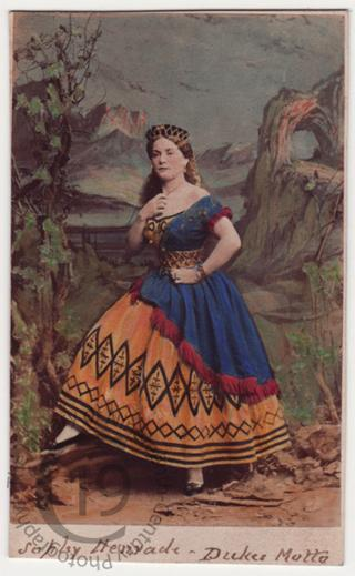 Sophy Henrade as 'The Gypsy Queen'