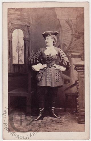 Ethel Lavenu in 'The Duke's Motto'