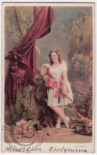 Clara St Casse as 'Cupid'
