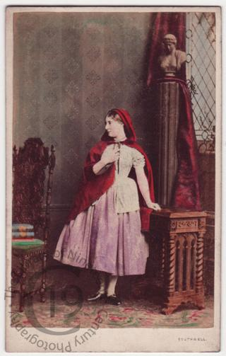 Lydia Thompson as 'The Colleen Bawn'