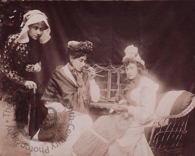 A 'spirit' photograph