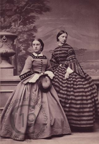 Mrs Macdonald and Miss Vernon Warren