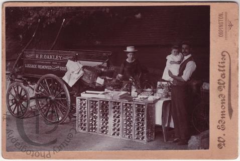 Roadside fruitier and greengrocer