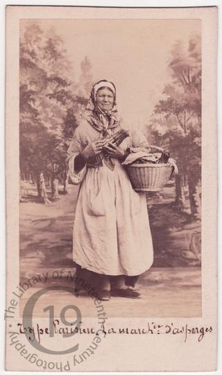 Asparagus seller