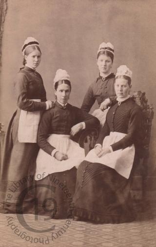 Four Scottish housemaids