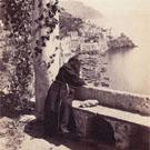 A monk at Amalfi