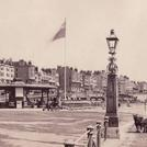 Madeira Drive and the Chain Pier in Brighton