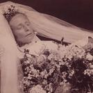 Frau Magdalena Gleiss in her wedding dress