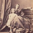 Mrs Ernst Benzon and daughter