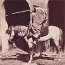 Algerian on horseback