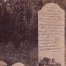 The family grave of John Gannaway
