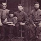 Rescued coal miners