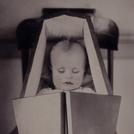Baby in coffin