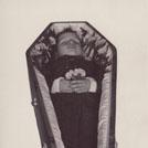 Boy in coffin
