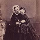 Queen Victoria and Princess Beatrice