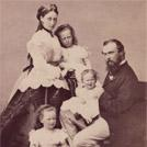 Prince Louis of Hesse and family