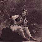Lydia Thompson in 'The Forty Thieves'